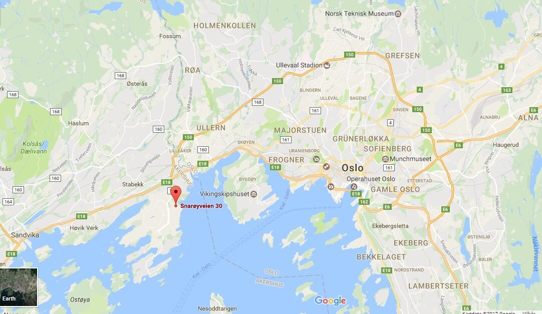 kart av oslo How to get there? – OIOslo2017 kart av oslo